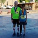 Patient Posing After a Marathon